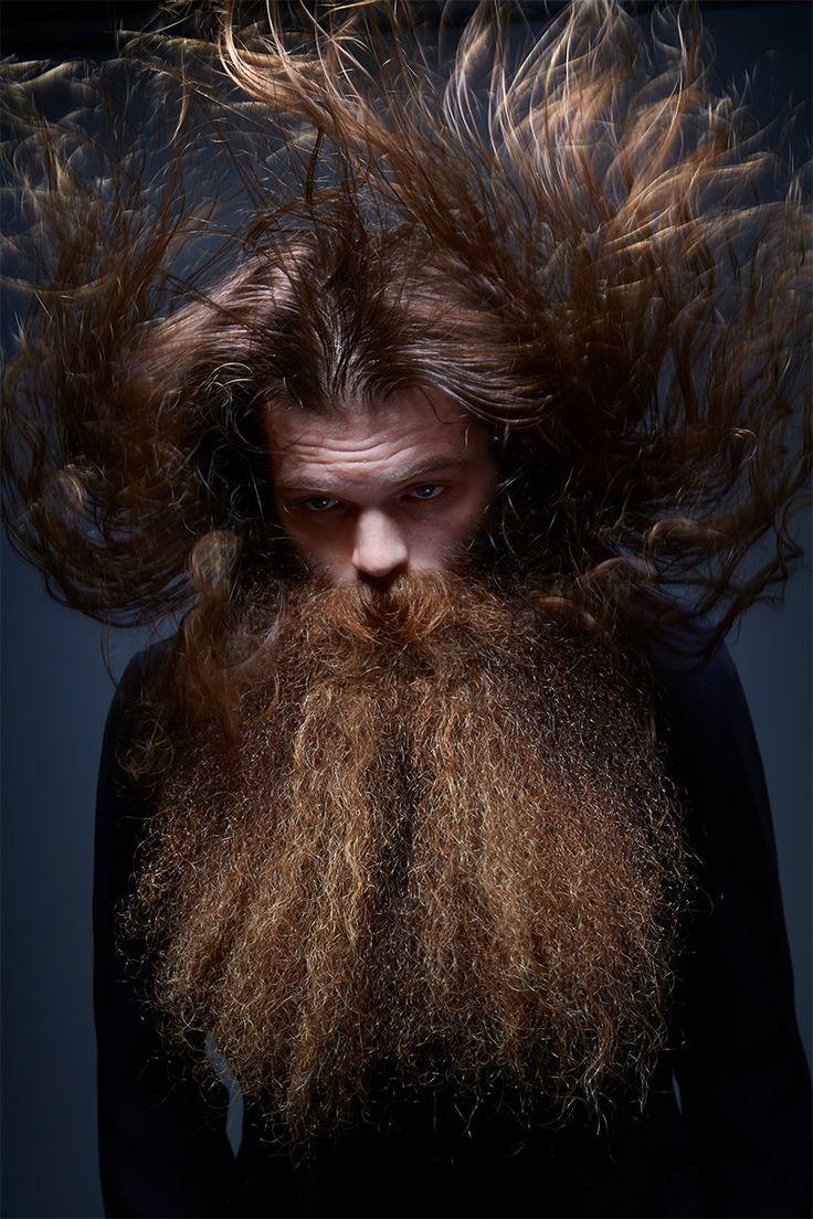 Greg Anderson : Portraits du Championnat National de la Barbe et de la…