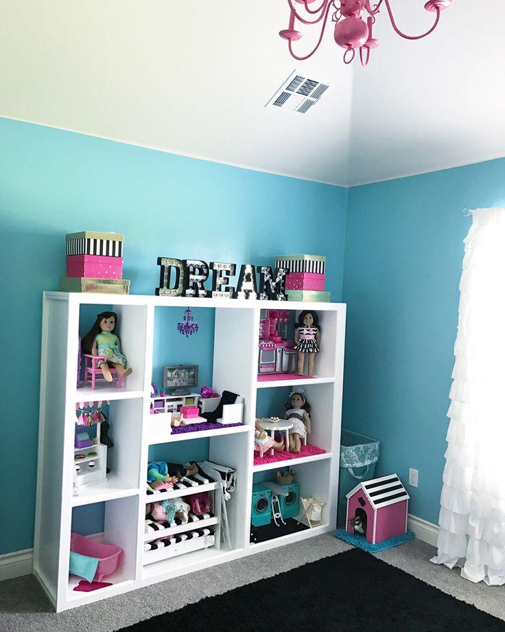 girls room decor american girl doll house