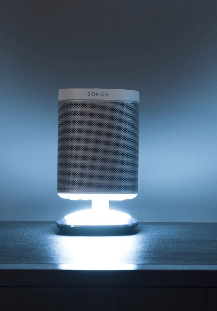 Mount your music today with our premium bespoke Illuminating Desk Stand for the SONOS PLAY:1 speaker. With a stylish and functional design, it looks great in any home. Music, light and power all in one unit.