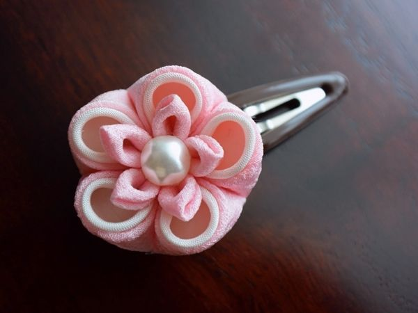梅姫✿花の香りに誘われて。ちび姫パッチン ⊰ ピンク ⊱ 画像1