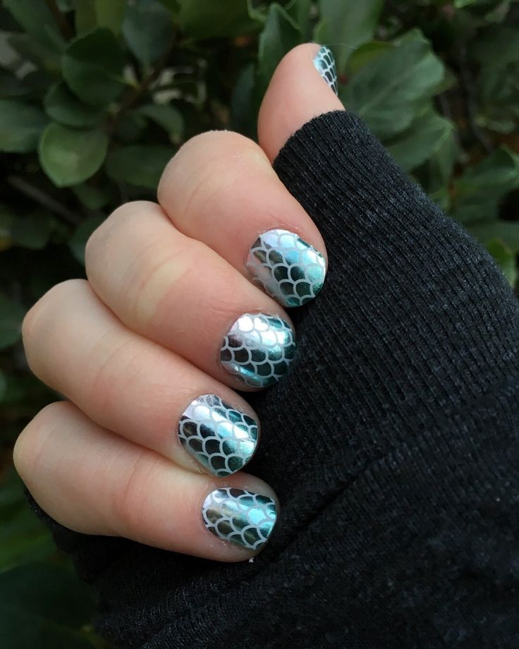 Mermaid Tales Jamberry Nail Wraps