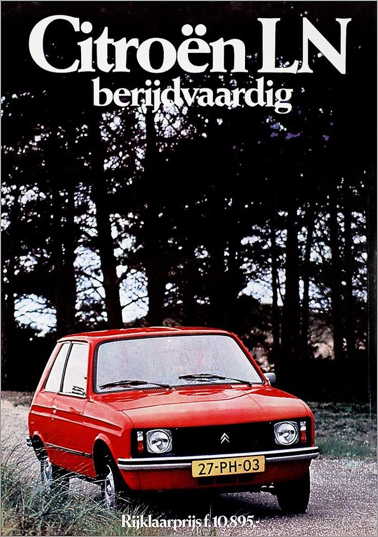 Citroën LN berijdvaardigRijklaarprijs F. 10.895,- - Het Geheugen van Nederland - Online beeldbank van Archieven, Musea en Bibliotheken