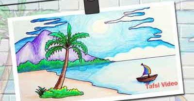 20 Gambaran Pemandangan Pantai Gambar Pemandangan Pantai Di Buku Gambar Download Gambar Kehidupan Gambar Pemandangan Pan Gambar Pemandangan Pantai Tropis