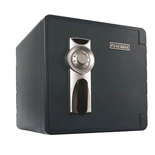 First Alert 2092F-BD-00 Waterproof and Fire-Resistant Bolt-Down Combination Safe