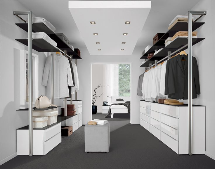 Modern Walk in Closets | Toronto