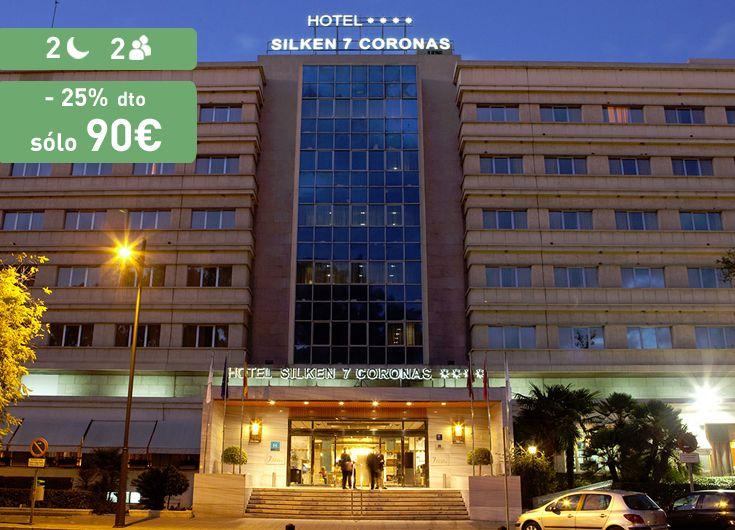 Increíble descuento del 25% en este Silken de Murcia. disfruta en marzo de una estancia única. https://www.reembolsing.com/oferta/murcia/hotel-silken-siete-coronas/430