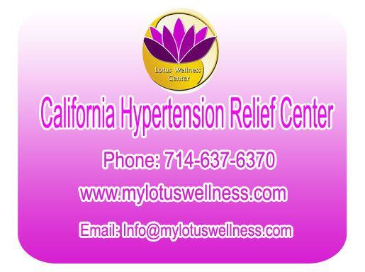 California #HypertensionReliefCenter.