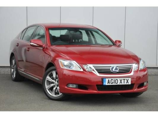 Used 2010 (10 reg) Red Lexus GS 450h 3.5 SE 2010 4dr CVT Auto for sale on RAC Cars