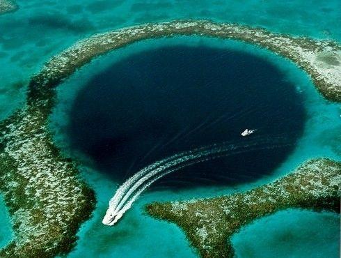 Il buco blu nel Mar dei Caraibi