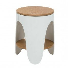 Taranta Side Table by Lodarico Bernardi for Ooland