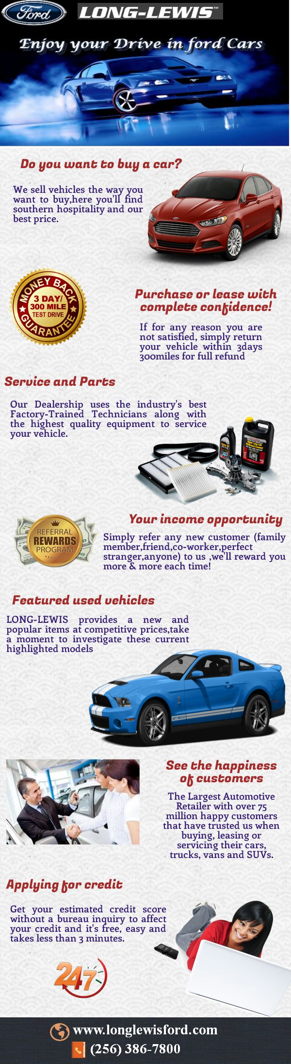 Benefits of ford dealers