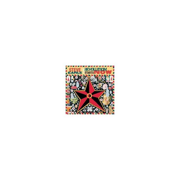 Steve earle - Revolution starts now (Vinyl)