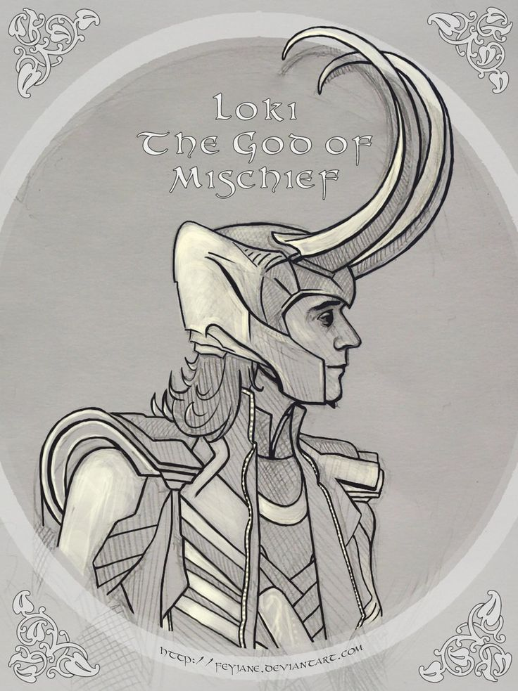 Loki - The God Of Mischief by Feyjane.deviantart.com on @deviantART