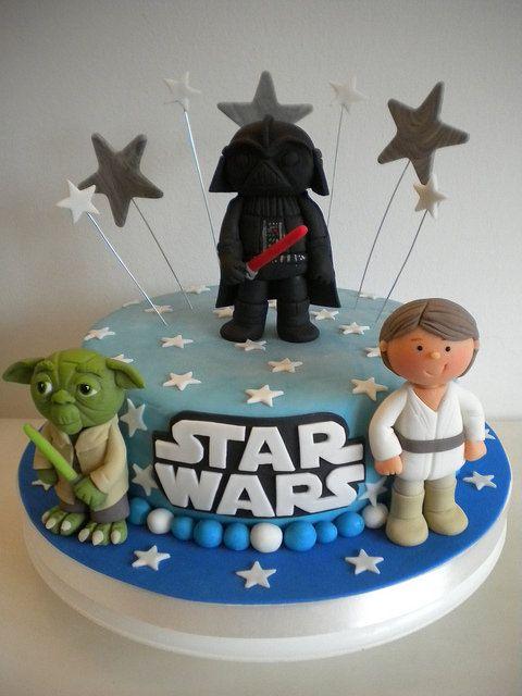 Torta Star Wars by Pastelera Bakery Shop, via Flickr