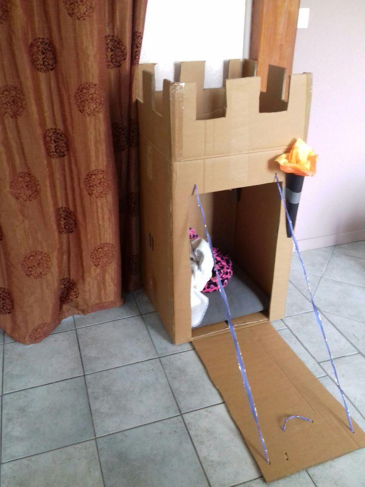 Château en carton-2h de travail😊