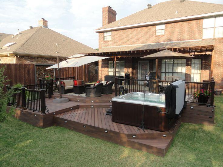 695 best decks images on pinterest backyard decks for Fiberon decking cost per square foot