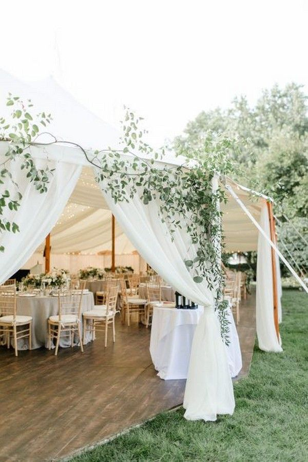 16 Gorgeous Wedding Entrance Decoration Ideas For Outdoor Tent