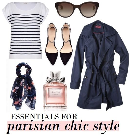 6 Essentials for Parisian Style   College Gloss