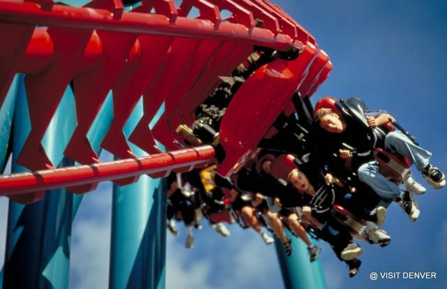 10 Must-See Tourist Attractions in Denver, Colorado: Elitch Gardens Theme Park