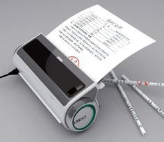 Turn your paper waste in to pencils with the push of a button. www.gesarofling.co.uk