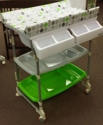 EURO STYLE _ Change Table U0026 Bath Tub In One!! Portable