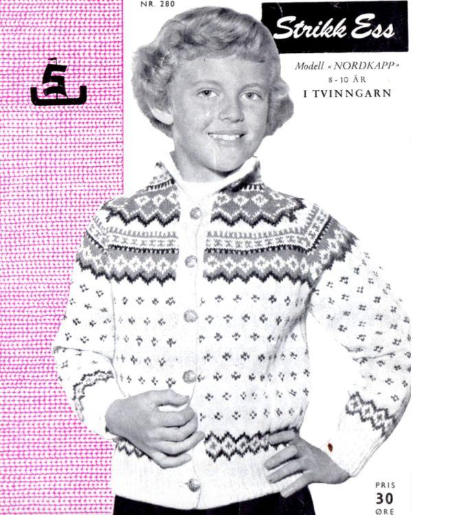 The Nordkapp kofte cardigan for children – Norwegian Knit
