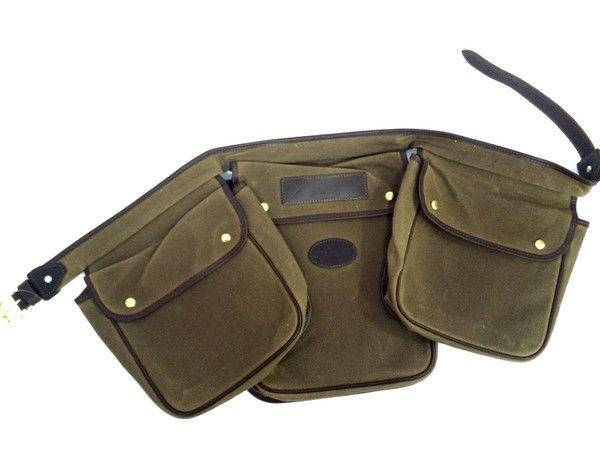 ULTIMATE SHOOTING BAG WAXED CANVAS