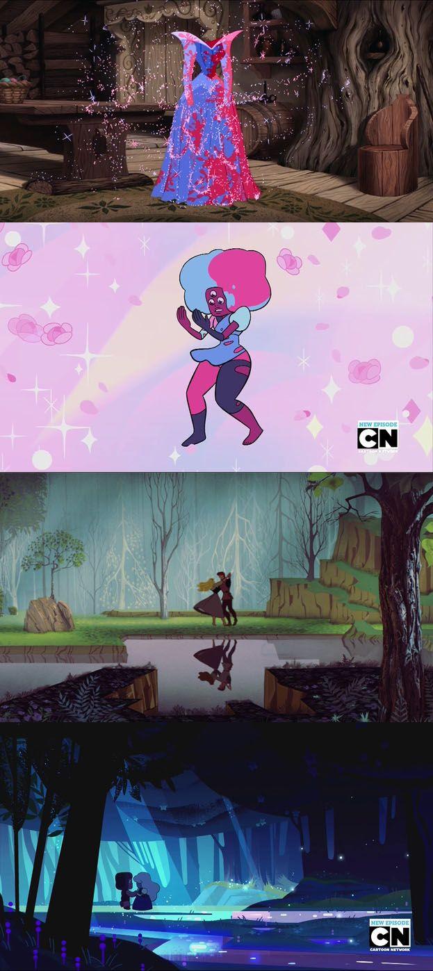 Sleeping Beauty Steven Universe parallels