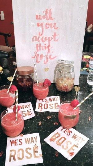 The Bachelorette – 'Yes Way Rose' Themed Bachelorette Party – Dixons Do…