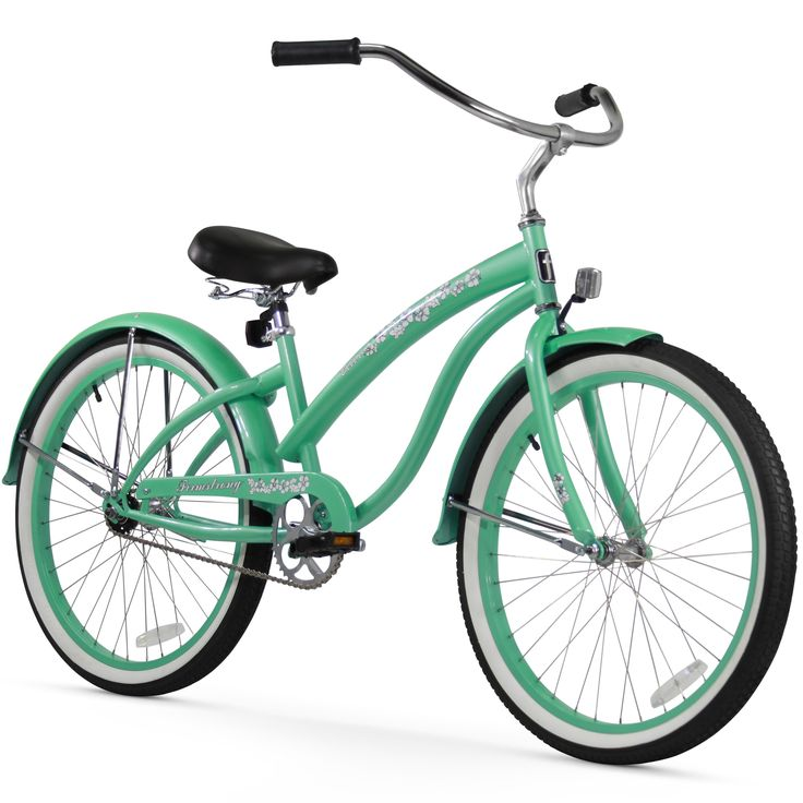 "26"" Firmstrong Bella Classic Single Speed Women's Beach Cruiser Bicycle, Mint"