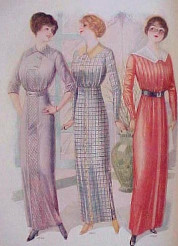 1000  images about FASHION HISTORY 1900-1914 on Pinterest