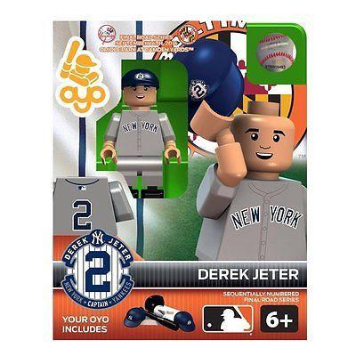 DEREK JETER Yankees vs Orioles ORIOLE PARK Final Road Series Minifigure OYO