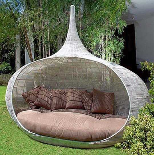 Attractive Onion Daybed   Contemporary   Outdoor Swingsets   By Hospitality Design  Source