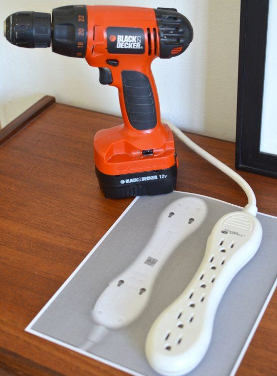 brilliant. // Smart & Simple Tip: How To Use a Scanner to Make Wall Mounting Quick & Easy