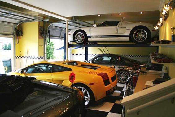 72 best luxury garages images on pinterest garages for Garajes de ensueno