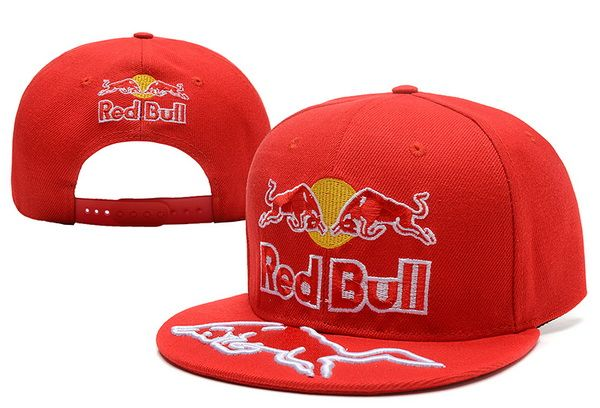 Red Bull Snapback Hats Red