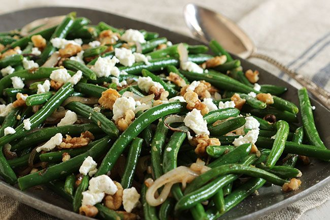 dish ever, ready in less than 15 minutes! Green Beans with Goat Cheese ...