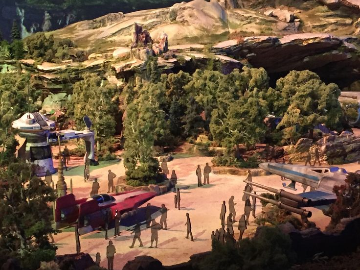 """'Star Wars' land is coming to Disney parks in 2019 — here's your first look at the massive attraction - Disney unveiled a first look at """"Star Wars"""" land Thursday night, and it's absolutely massive.  INSIDER was on hand asWalt Disney Parks and Resorts Chairman Bob Chapek unveileda larger-than-life detailed model of the """"Star Wars""""-themed landsto a small group of media Thursday evening at the Anaheim Convention Center. """"Star Wars"""" landwill be coming to Disneyland in Anaheim, California and…"""