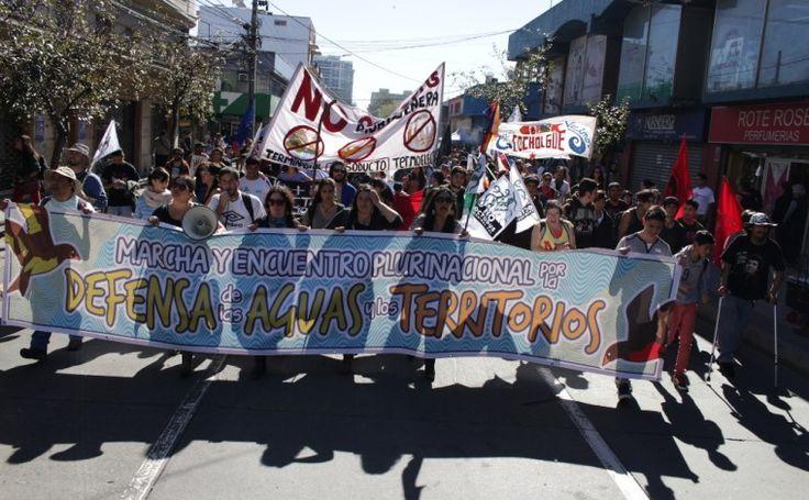 Chile. Encuentro anual por la Defensa del Agua y los Territorios