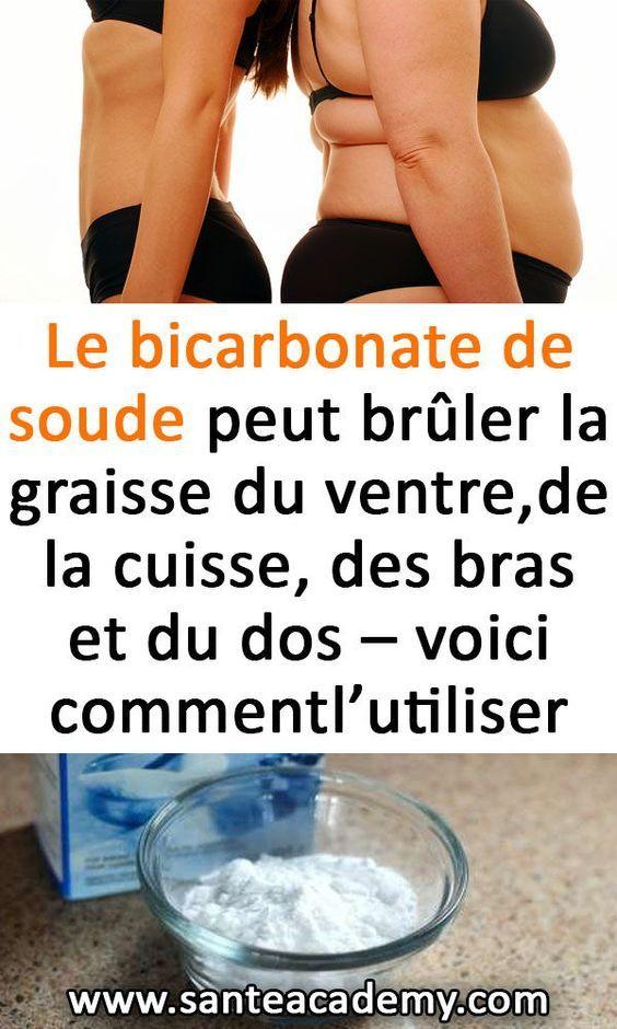El bicarbonato de sodio puede quemar grasa abdominal, muslos, cerebro, …