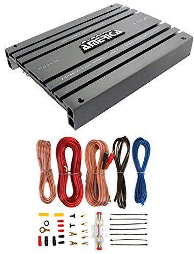 PYRAMID PB918 2000W 2 Channel Car Audio Amplifier Power Bridgeable+8 Ga Amp Kit. New Pyramid PB918 1000 Watt 2 Channel Car Amplifier. 2 Channel Amplification. 2×1000W Max Output. 1×2000W Watts 2 Bridged. Fully Adjustable Electronic Crossovers.