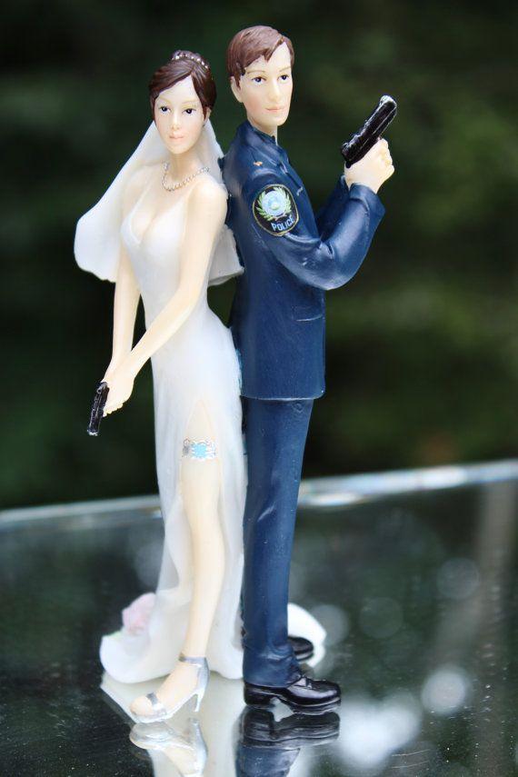 Https Www Etsy Com Listing  Wedding Cake Topper Rifle Gun Wedding
