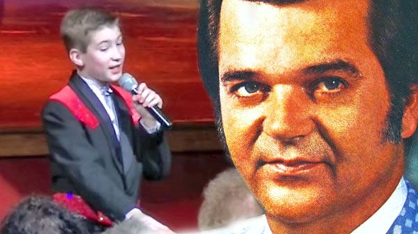 "Conway twitty Songs - Talented 12-Year-Old Boy Performs Conway Twitty's ""Hello Darlin"" (VIDEO) 