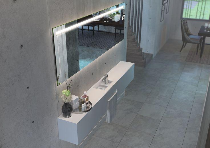 7 best solid surface: badkamer en toilet images on Pinterest ...