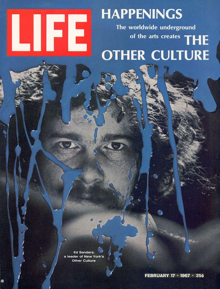 Ed Sanders, LIFE cover, 1967  60'S PHOTOS  beatnikhiway.com