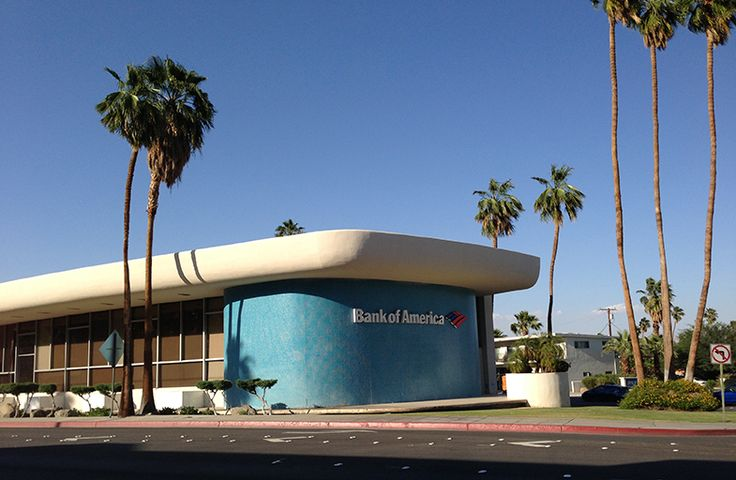 Bank of America Architecture, Palm Springs, InForm Melbourne