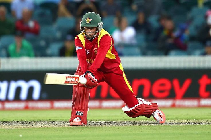 Sean Williams held the innings together and kept Zimbabwe going with a sprightly knock