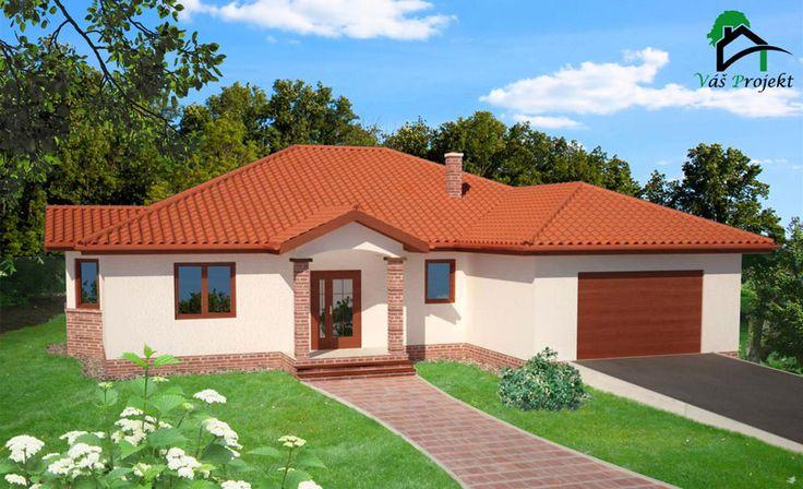 rozpravkovy bungalov / dom prizemny / bungalow / projekt