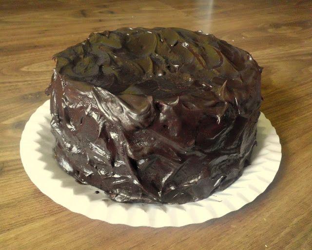 Nadpozemsky čokoládový dort