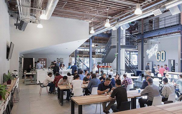 Pinterest ( ピンタレスト )、工場をリノベした新本社デザイン in サンフランシスコ   VIP WORKS